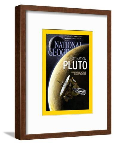 Cover of the July, 2015 National Geographic Magazine-Dana Berry-Framed Art Print