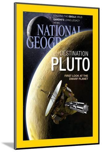 Cover of the July, 2015 National Geographic Magazine-Dana Berry-Mounted Photographic Print