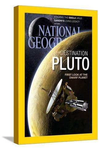 Cover of the July, 2015 National Geographic Magazine-Dana Berry-Stretched Canvas Print