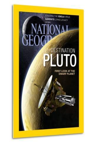Cover of the July, 2015 National Geographic Magazine-Dana Berry-Metal Print