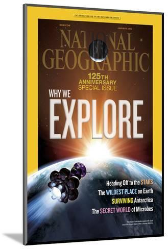 Cover of the January, 2013 National Geographic Magazine-Dana Berry-Mounted Photographic Print
