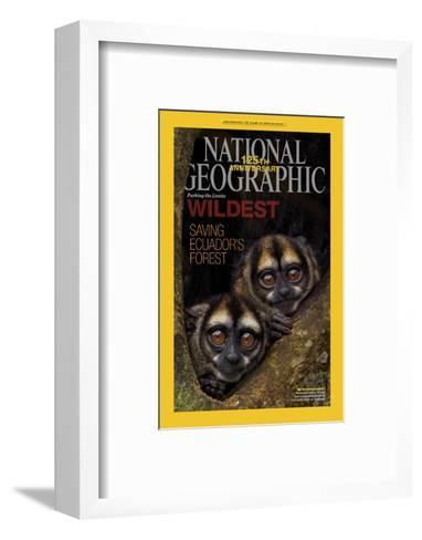 Cover of the January, 2013 National Geographic Magazine-Tim Laman-Framed Art Print