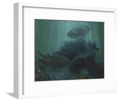 The Lord of Barcajon Channel, 2005-Stanley Meltzoff-Framed Art Print