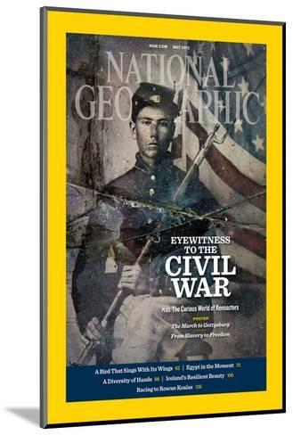 Cover of the May, 2012 National Geographic Magazine-Rebecca Hale-Mounted Photographic Print