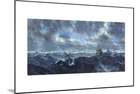 Heavy Seas and Leaping Fish: Master's Tournament, January, 1978-Stanley Meltzoff-Mounted Giclee Print