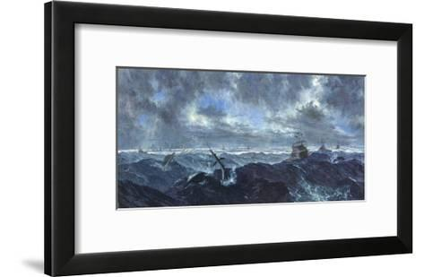 Heavy Seas and Leaping Fish: Master's Tournament, January, 1978-Stanley Meltzoff-Framed Art Print