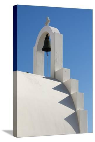 Detail of the Bell Atop a Small Chapel-Sergio Pitamitz-Stretched Canvas Print