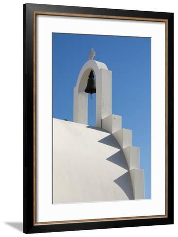 Detail of the Bell Atop a Small Chapel-Sergio Pitamitz-Framed Art Print