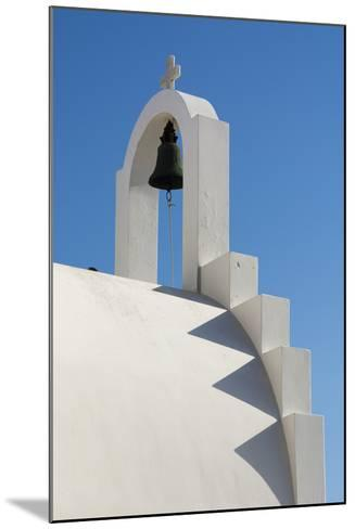 Detail of the Bell Atop a Small Chapel-Sergio Pitamitz-Mounted Photographic Print