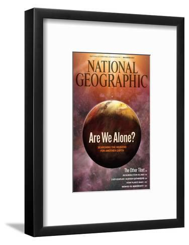 Cover of the December, 2009 National Geographic Magazine-Dana Berry-Framed Art Print