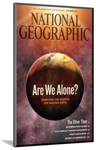 Cover of the December, 2009 National Geographic Magazine-Dana Berry-Mounted Photographic Print