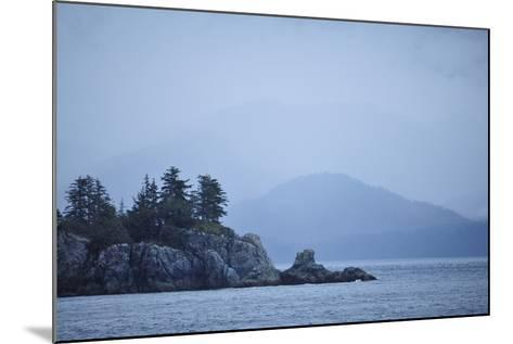 Low Clouds Hang Above the Rocky Landscape Near Port Althorp, Alaska-Jonathan Kingston-Mounted Photographic Print