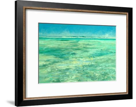 Hide and Seek on the Flats, 1988-Stanley Meltzoff-Framed Art Print