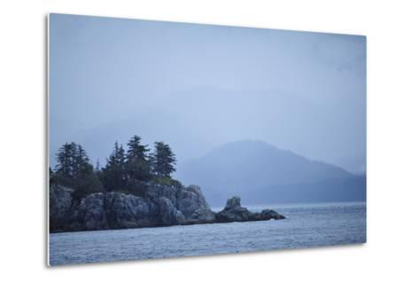 Low Clouds Hang Above the Rocky Landscape Near Port Althorp, Alaska-Jonathan Kingston-Metal Print