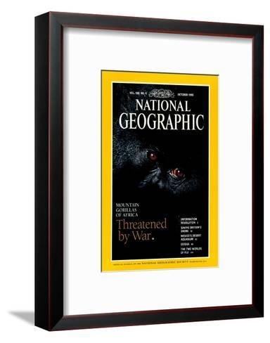 Cover of the October, 1995 National Geographic Magazine-Michael Nichols-Framed Art Print