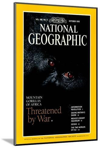 Cover of the October, 1995 National Geographic Magazine-Michael Nichols-Mounted Photographic Print