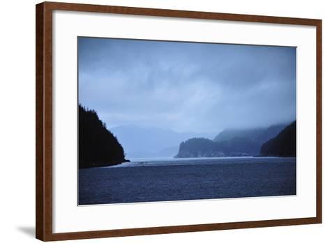 Low Clouds Hang Above the Rocky Landscape Near Port Althorp, Alaska-Jonathan Kingston-Framed Art Print