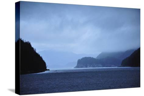 Low Clouds Hang Above the Rocky Landscape Near Port Althorp, Alaska-Jonathan Kingston-Stretched Canvas Print