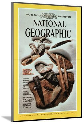 Cover of the September, 1979 National Geographic Magazine-David Arnold-Mounted Photographic Print