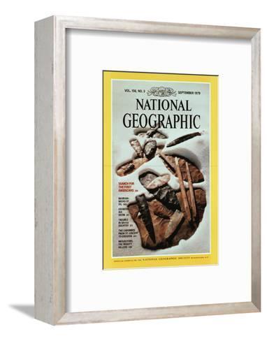 Cover of the September, 1979 National Geographic Magazine-David Arnold-Framed Art Print