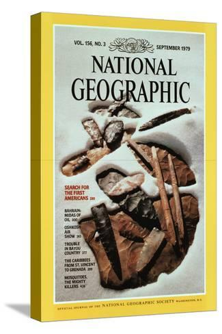 Cover of the September, 1979 National Geographic Magazine-David Arnold-Stretched Canvas Print