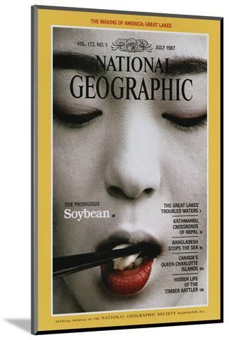Cover of the July, 1987 National Geographic Magazine-Chris Johns-Mounted Photographic Print
