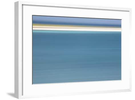 The Turquoise Caribbean Sea and White Beach in the Portland Bight Protected Area-Robin Moore-Framed Art Print