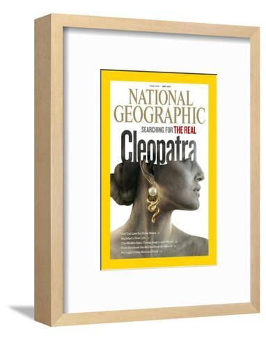 Cover of the July, 2011 National Geographic Magazine-Sam Weber-Framed Art Print