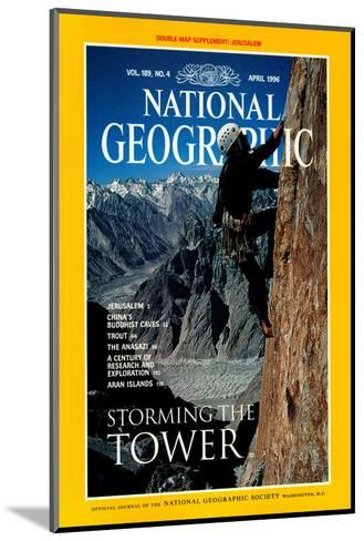 Cover of the April, 1996 National Geographic Magazine-Bill Hatcher-Mounted Photographic Print