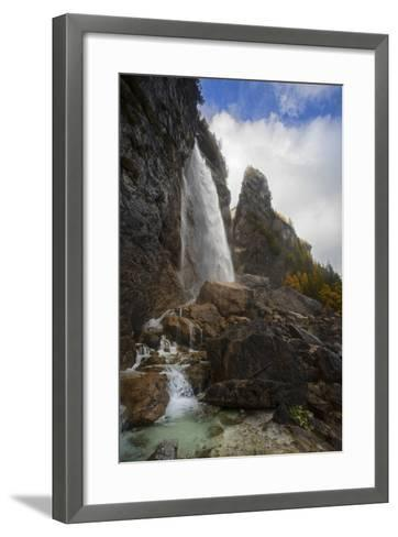 The Cascada Delle Comelle on the Liera River, Near Gares-Ulla Lohmann-Framed Art Print