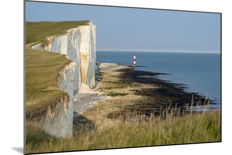 Looking Towards the Cliffs Near Beachy Head and the Lighthouse-Alex Treadway-Mounted Photographic Print