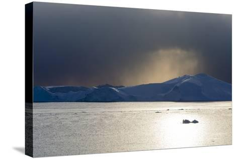 Icebergs in Ilulissat Icefjord, an UNESCO World Heritage Site-Sergio Pitamitz-Stretched Canvas Print