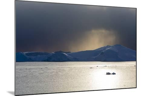 Icebergs in Ilulissat Icefjord, an UNESCO World Heritage Site-Sergio Pitamitz-Mounted Photographic Print