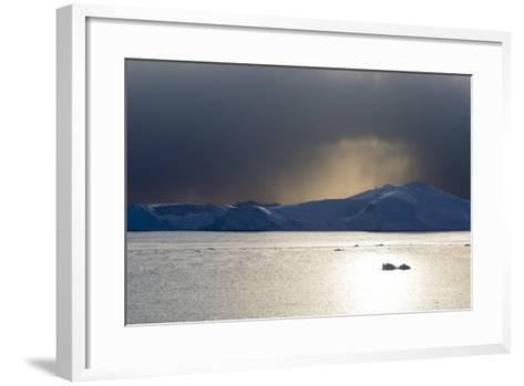 Icebergs in Ilulissat Icefjord, an UNESCO World Heritage Site-Sergio Pitamitz-Framed Art Print