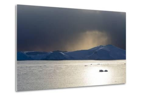 Icebergs in Ilulissat Icefjord, an UNESCO World Heritage Site-Sergio Pitamitz-Metal Print