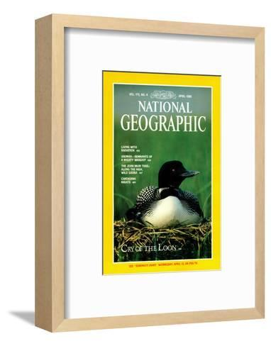 Cover of the April, 1989 National Geographic Magazine-Michael S^ Quinton-Framed Art Print