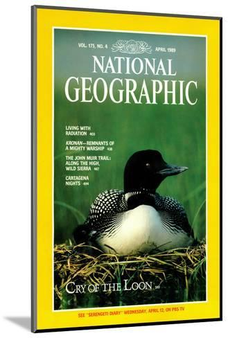 Cover of the April, 1989 National Geographic Magazine-Michael S^ Quinton-Mounted Photographic Print