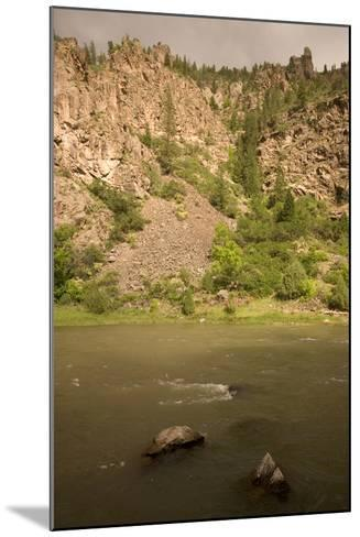 The Gunnison River on the Extreme Eastern Edge of Black Canyon of the Gunnison National Park-Phil Schermeister-Mounted Photographic Print