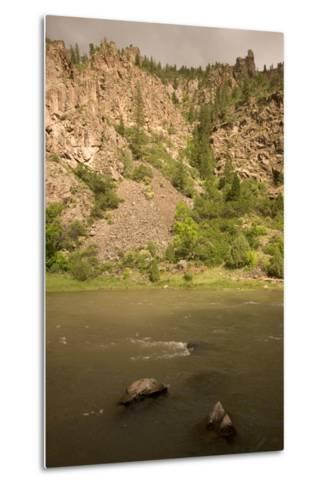 The Gunnison River on the Extreme Eastern Edge of Black Canyon of the Gunnison National Park-Phil Schermeister-Metal Print