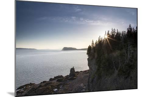The Seascape from a Rocky Overlook-Robbie George-Mounted Photographic Print