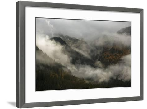 Clouds Drift over Forests in Lagorai-Ulla Lohmann-Framed Art Print