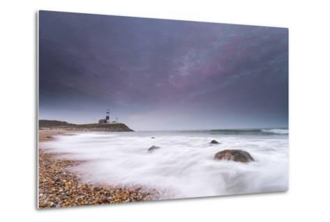 Montauk Point Lighthouse at Dusk-Robbie George-Metal Print