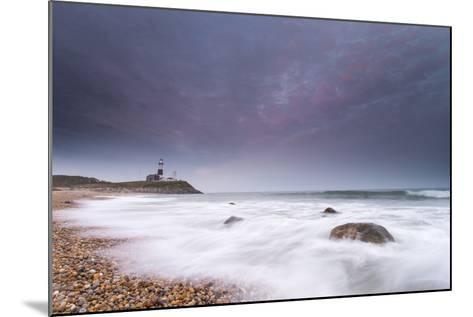 Montauk Point Lighthouse at Dusk-Robbie George-Mounted Photographic Print