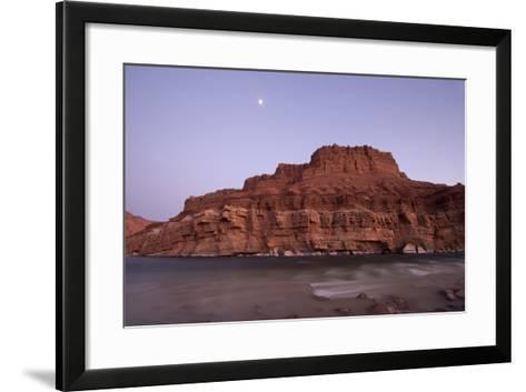 The Colorado River at Lee's Ferry, Arizona-Phil Schermeister-Framed Art Print