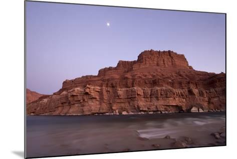 The Colorado River at Lee's Ferry, Arizona-Phil Schermeister-Mounted Photographic Print