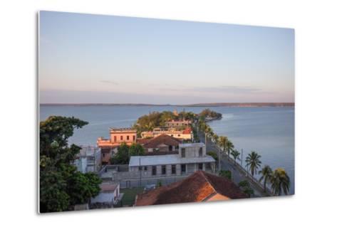 Sunset over Punta Gorda, Cienfuegos, Cuba-Erika Skogg-Metal Print