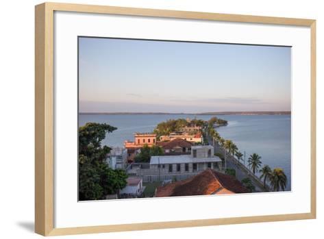 Sunset over Punta Gorda, Cienfuegos, Cuba-Erika Skogg-Framed Art Print