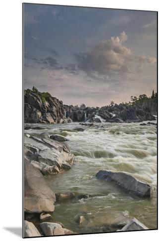 Great Falls of the Potomac River, from Fishermen's Eddy on the Virginia Side-Irene Owsley-Mounted Photographic Print