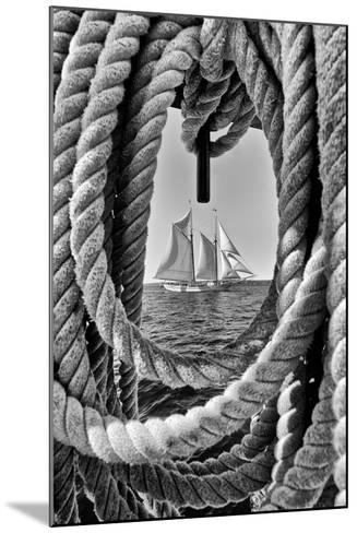 The Taber, the Oldest Documented Sailing Vessel in Continuous Service in the United States-Kike Calvo-Mounted Photographic Print
