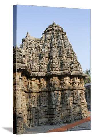 An Intricately Carved Pinnacle of the Keshava Temple-Kelley Miller-Stretched Canvas Print